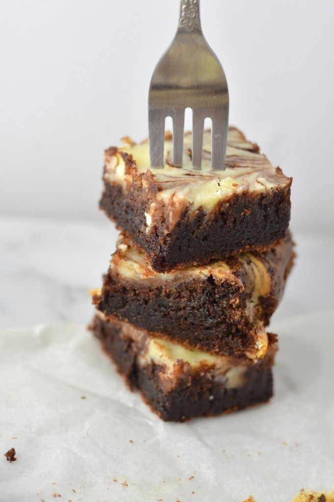 Marble Cream Cheese Brownie | A Taste of Madness