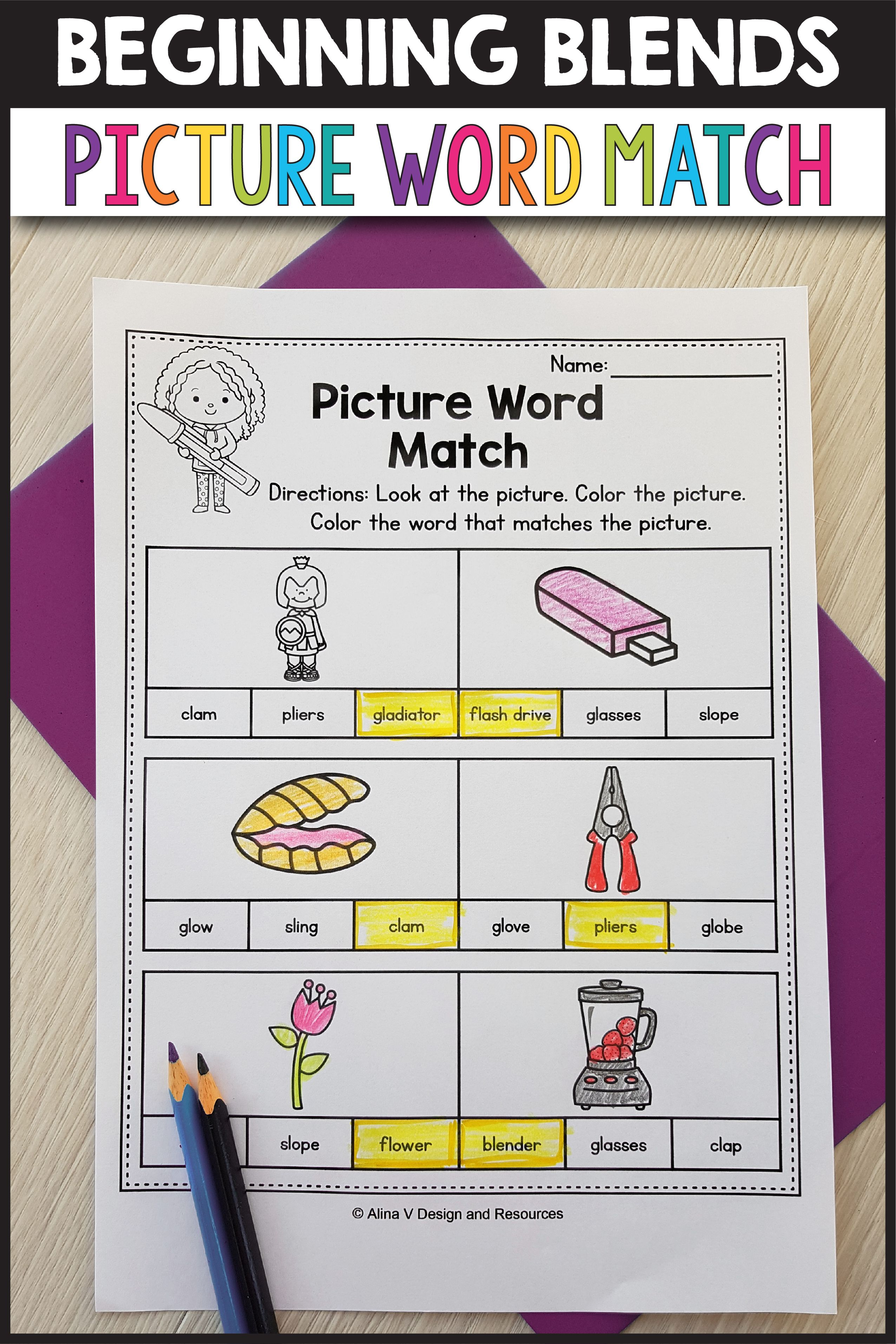 S Blends Worksheets R Blends Activities
