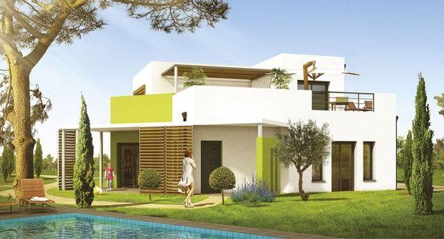 Maison moderne  15 modèles pour vous inspirer Pinterest - Modeles De Maisons Modernes