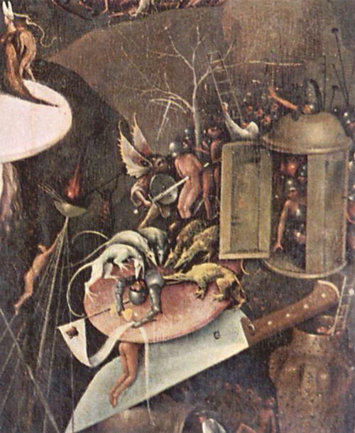 Bosch Hieronymus Der Garten Der Lüste Rechter Flügel Die Hölle