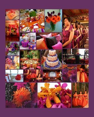 burnt orange and pewter wedding - Google Search | KD Wedding ...