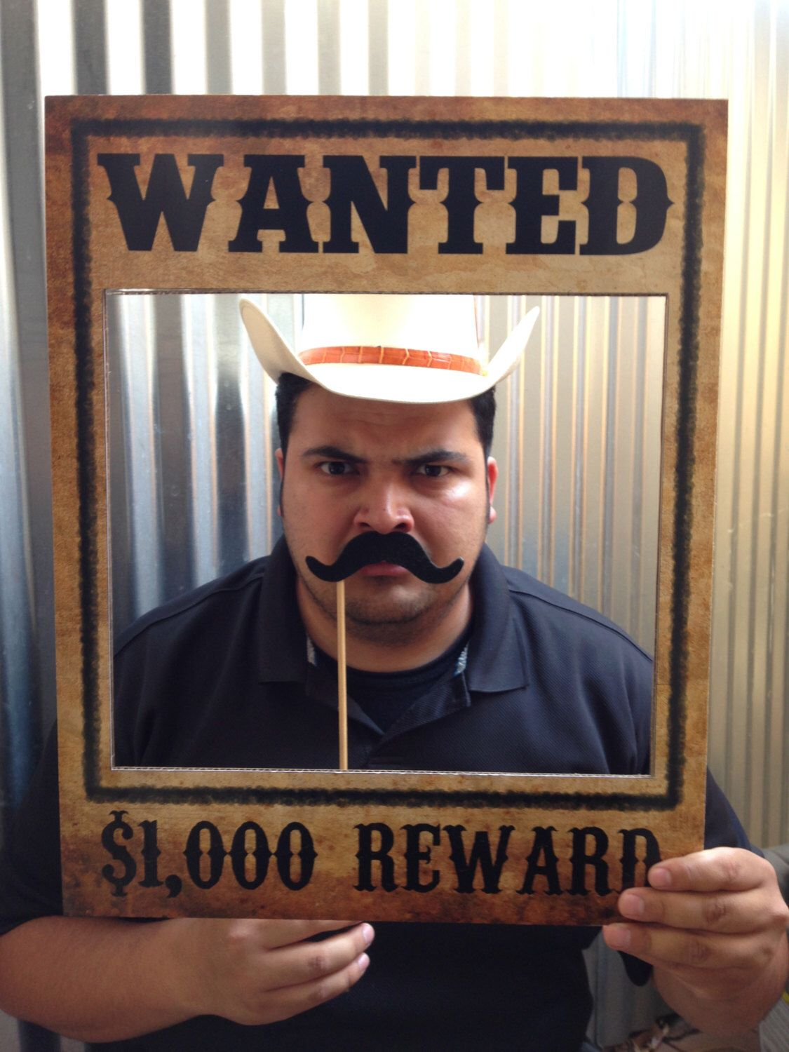 Wanted Poster Western, Cowboy, Rodeo Birthday Party