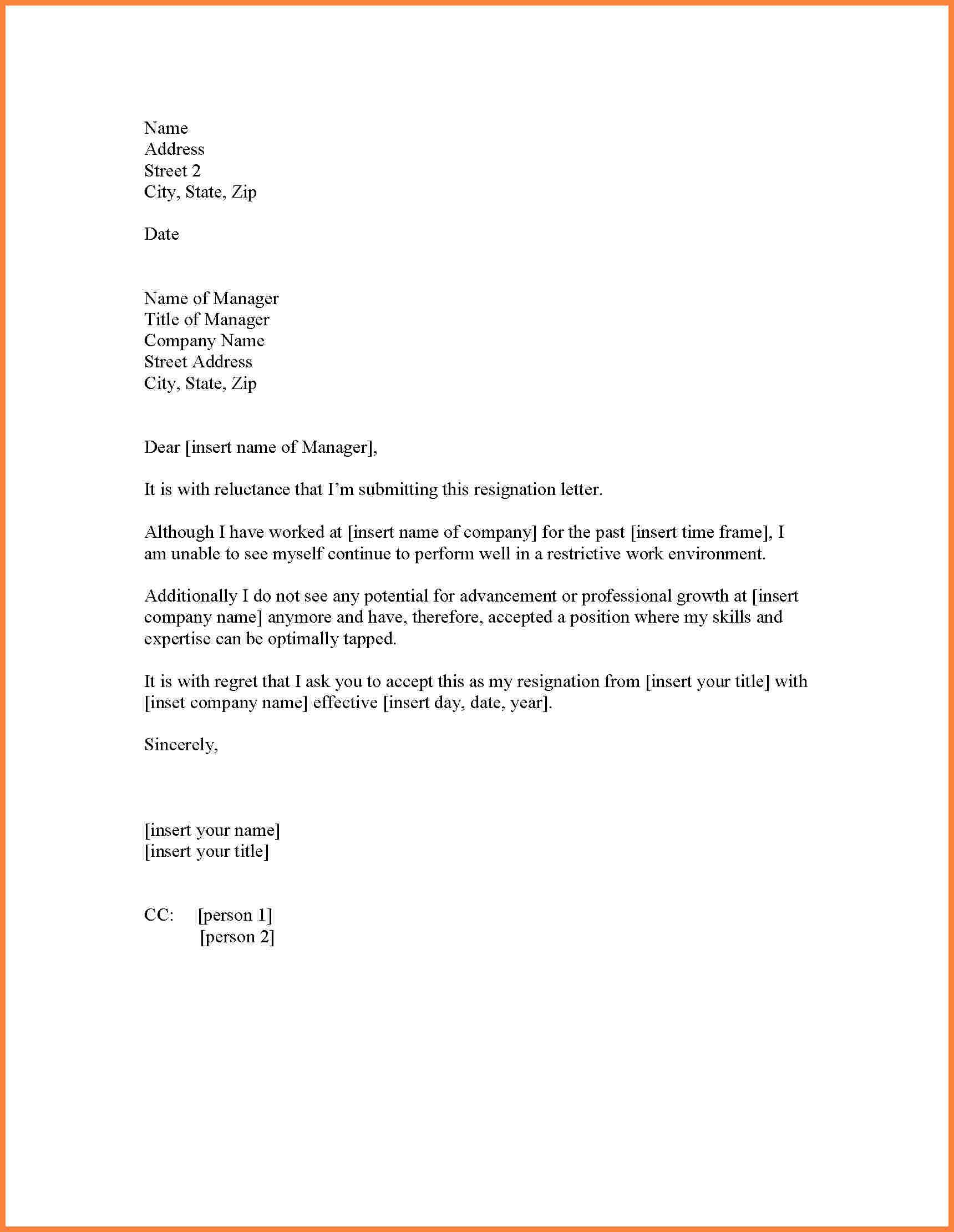 Best Resignation Letter For Personal Reasons Resignation Letter  For Personal Reasons The Legal Profession Depends On Clear And Exact Language Cover  Letter  ...