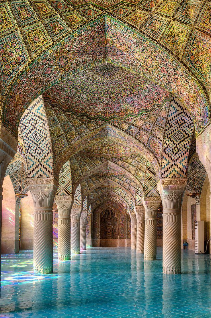 The Magic Of Colors: My Photos Of Nasir-ol-molk Mosque | Bored Panda