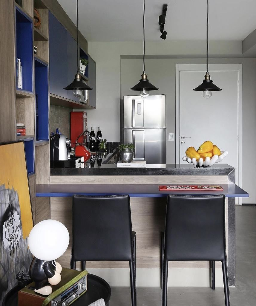 M Veis Coloridos 63 Fotos Inspira Es E Passo A Passo Cozinhas
