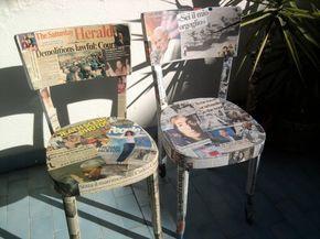 Dipingere Sedie ~ Avete delle vecchie sedie ormai rovinate bè si possono