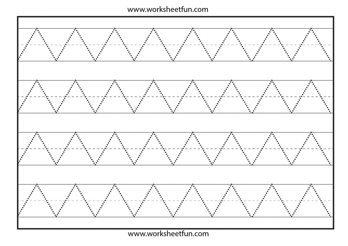 12 Standing Line Worksheet For Preschool