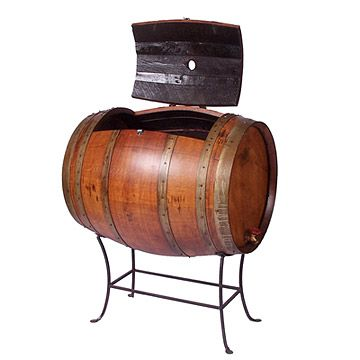 Look what I found at UncommonGoods: Recycled Wine Barrel Cooler for $900.00
