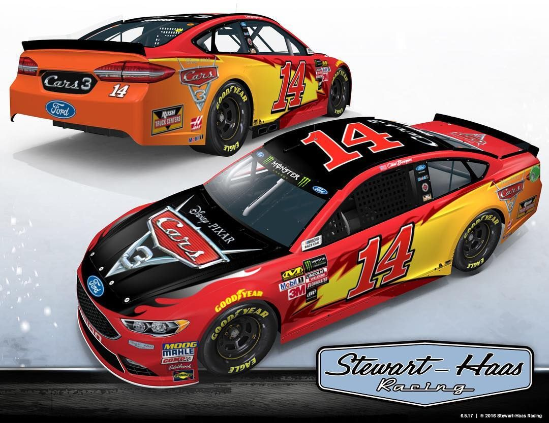 Clint Bowyer Cars 3 Paint Scheme Sonoma Raceway With Images
