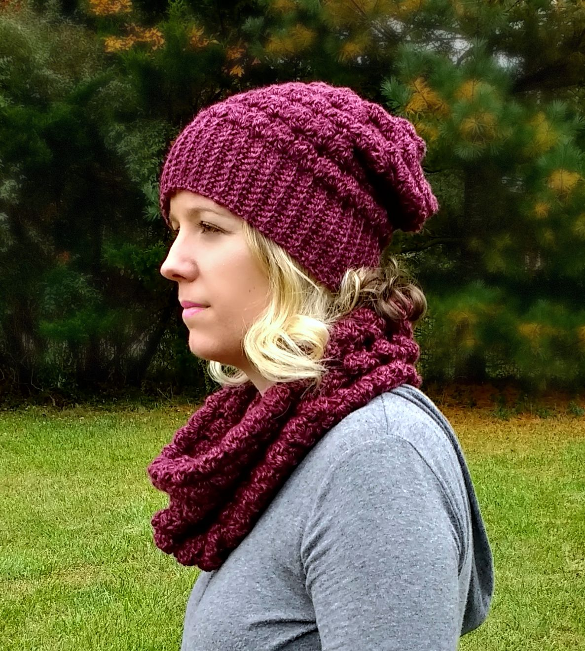 The Lenape Slouch Beanie - A free pattern by | Pinterest | Traje