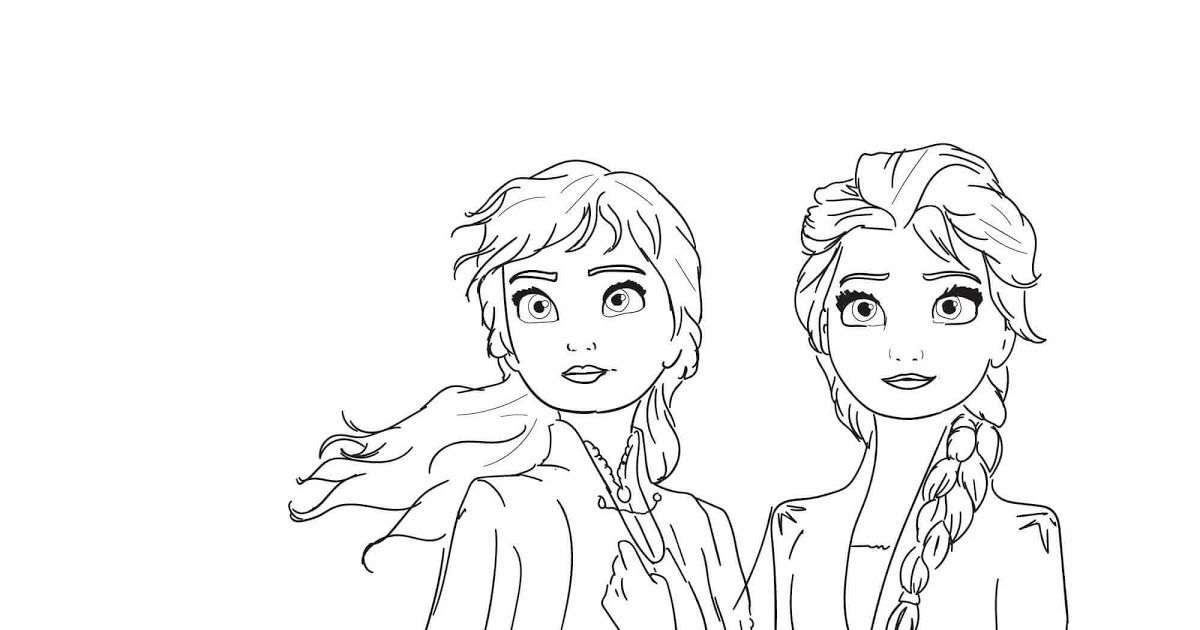 Frozen 2 Coloring Pages Ana Frozen Coloring Pages Elsa Coloring Anna And Elsa From Disney Frozen 2 Elsa Coloring Pages Frozen Coloring Pages Frozen Coloring