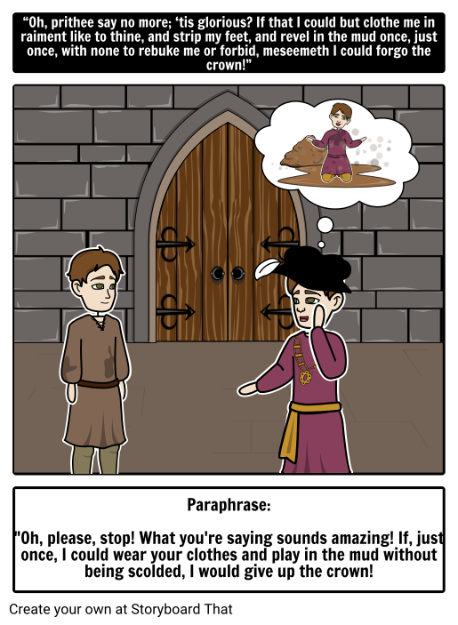 the prince and the pauper questions
