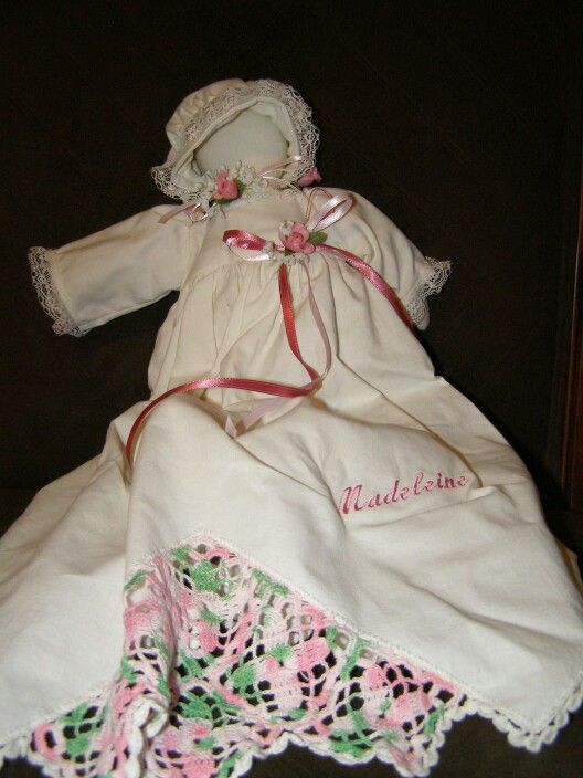 A pillowcase doll made from an antique pillowcase. #pillowcasesandpillowcasedolls