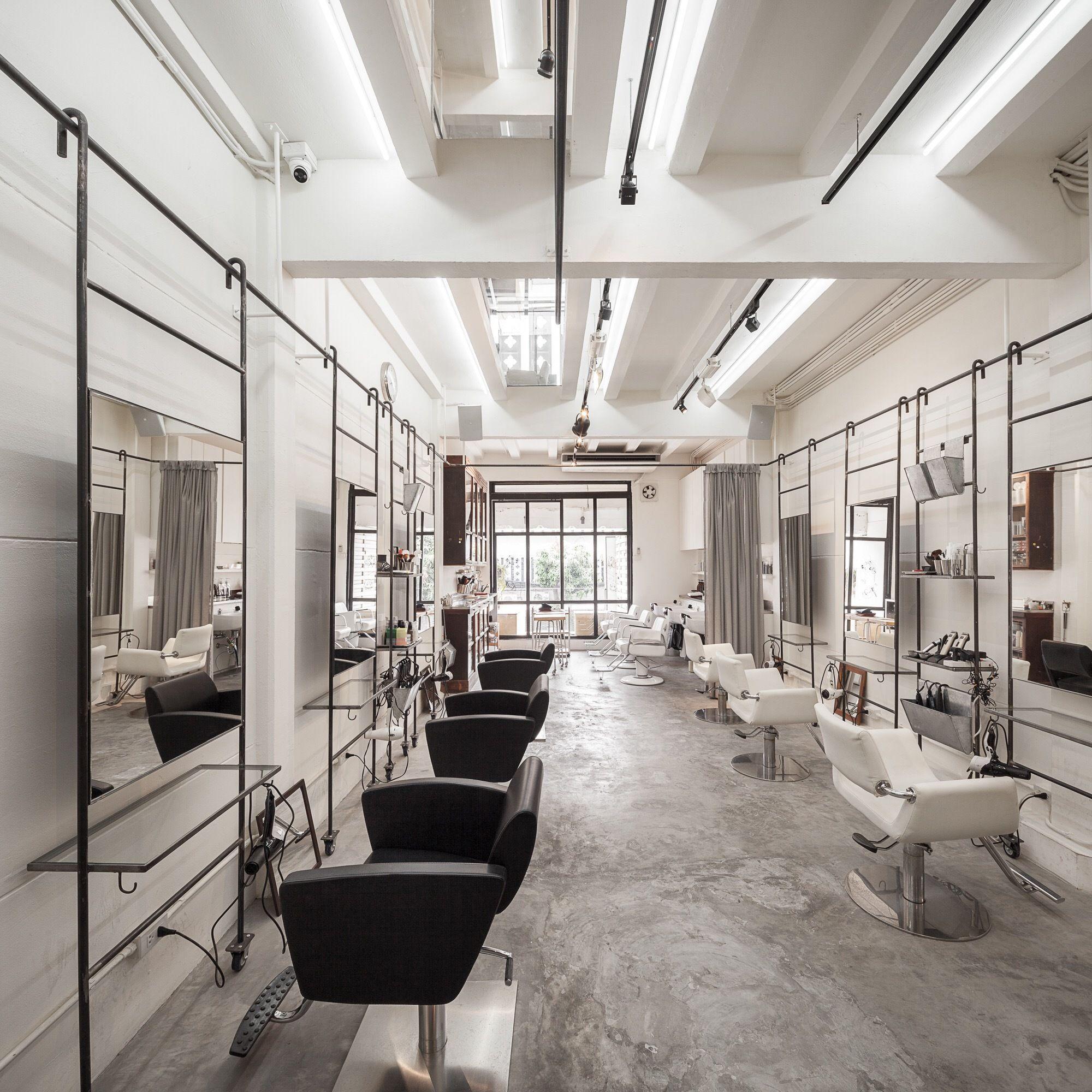 Gallery Of Boy Siam Square Stu D O Architects 16 Salon Interior Design Hair Salon Interior Beauty Salon Interior
