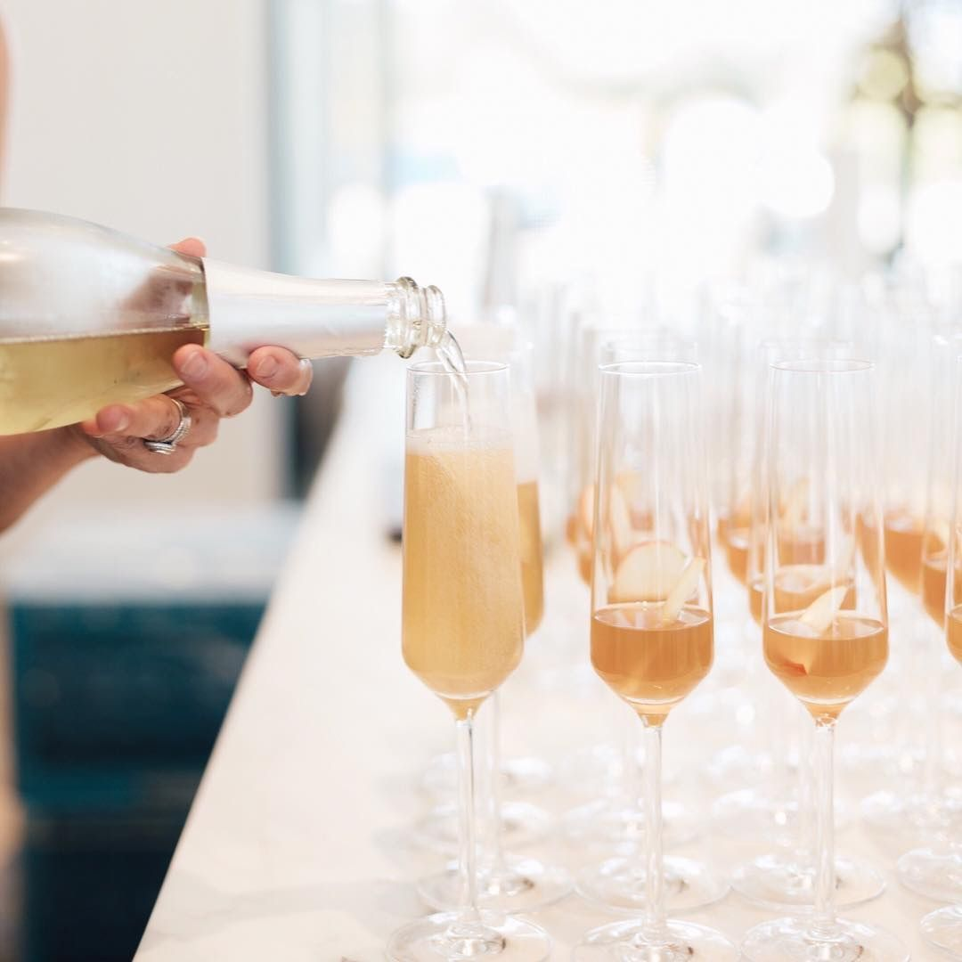 Have You Ever Wondered How Much Champagne You D Need For A Wedding Toast You Can Get 6 Pours Out Of Each Bottle And Exper Wines Wine Wedding Onehope Wine