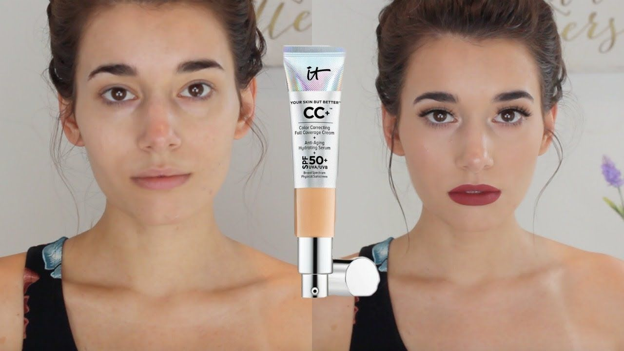 First Impression Review It Cosmetics Cc Cream Youtube It Cosmetics Cc Cream Cc Cream Sephora Skin Care