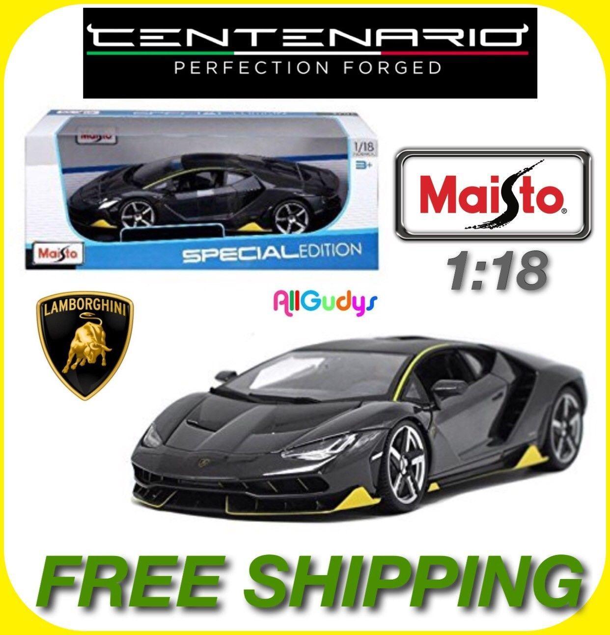 nice Amazing Maisto 1:18 Scale Diecast Model Car - Lamborghini ...