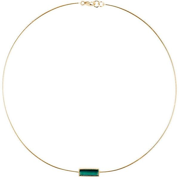 Feathered Soul Women's #Flow Choker ($1,069) ❤ liked on Polyvore featuring jewelry, necklaces, gold, 14k jewelry, 14 karat gold necklace, choker jewellery, 14 karat gold jewelry and polish jewelry