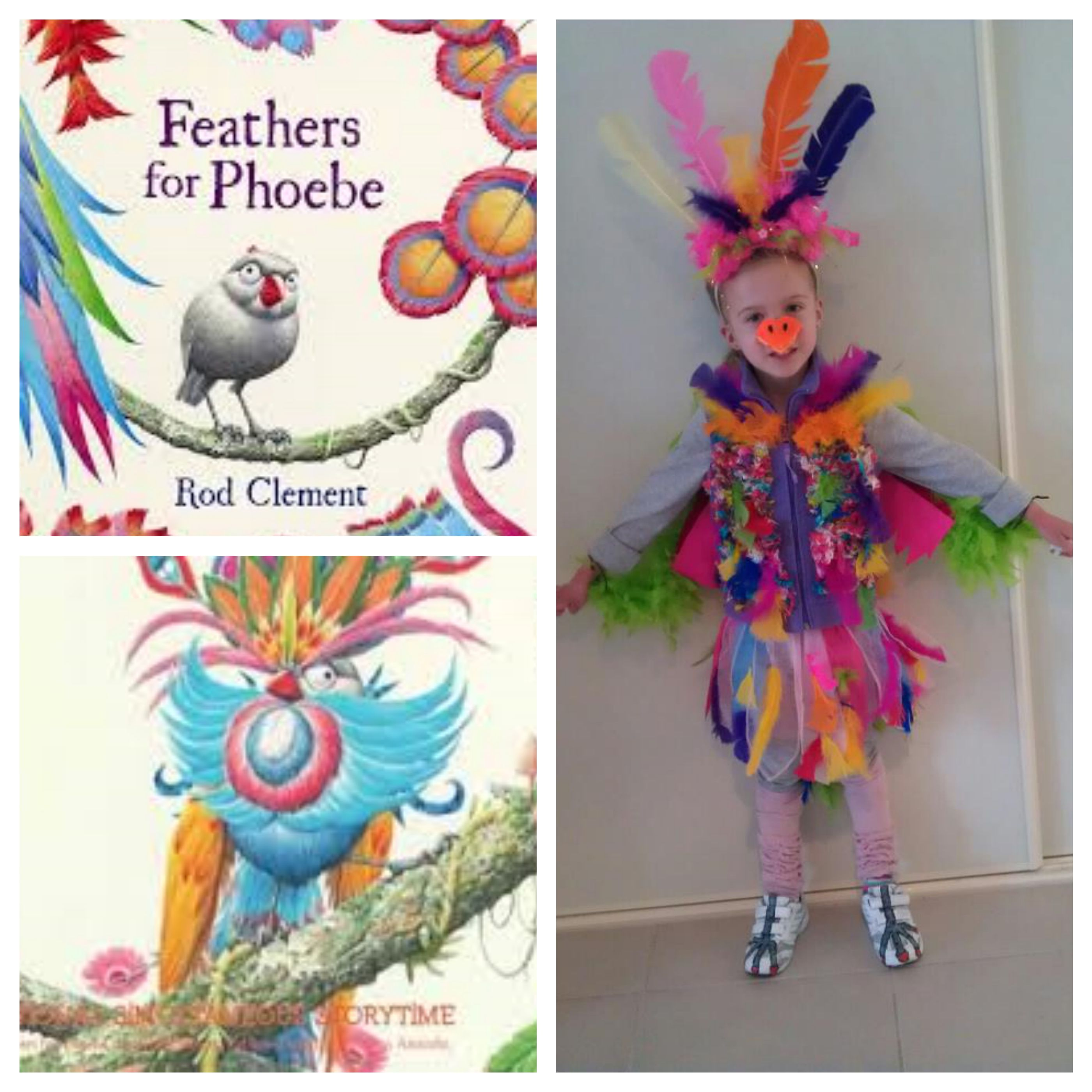 My Daughters Character Costume For Book Week Prep