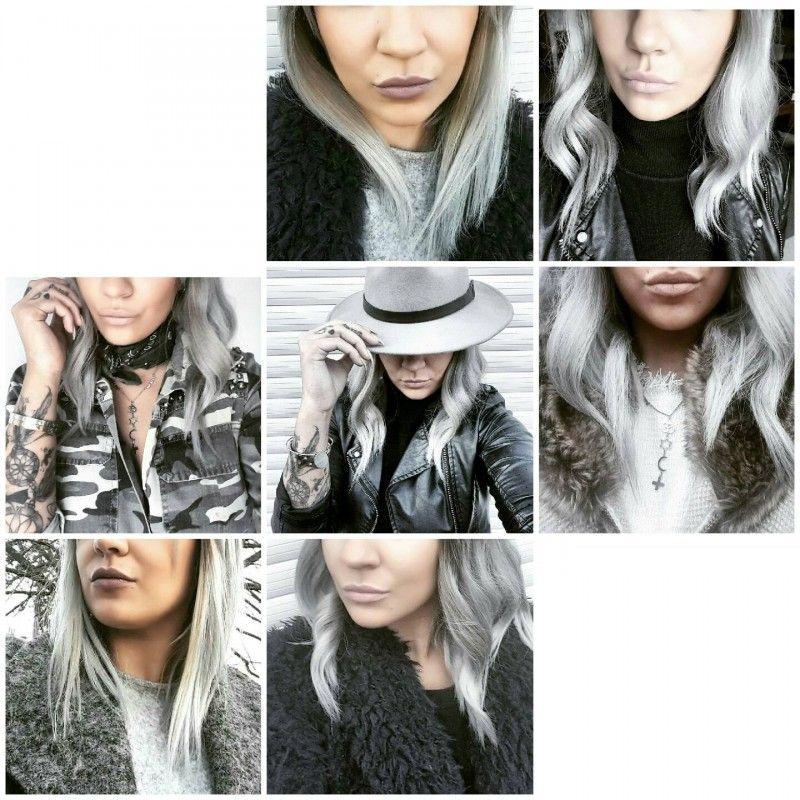 avoir des cheveux gris