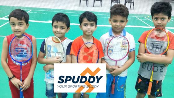 Indoor Badminton Academy And Courts Spuddy Badminton Club Gurgaon Noida Badminton Club Badminton Badminton Court