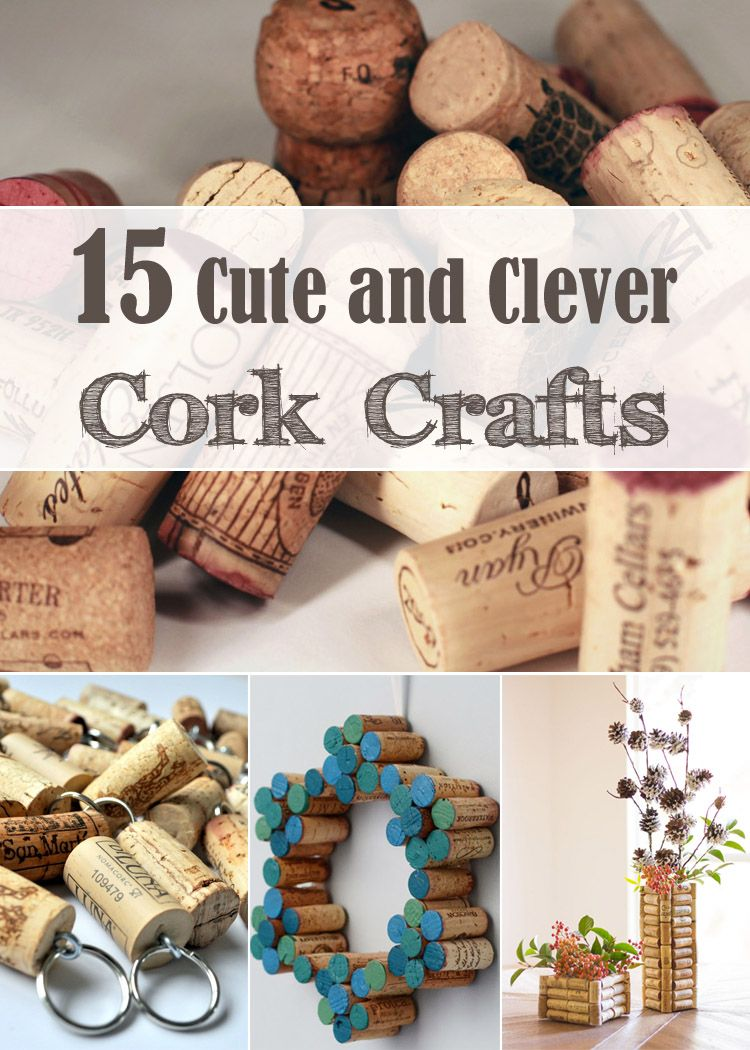 Diytotry Diy Wine Corks 15 Cute And Clever Cork Crafts Wine Cork Diy Cork Crafts Diy Wine Cork Crafts