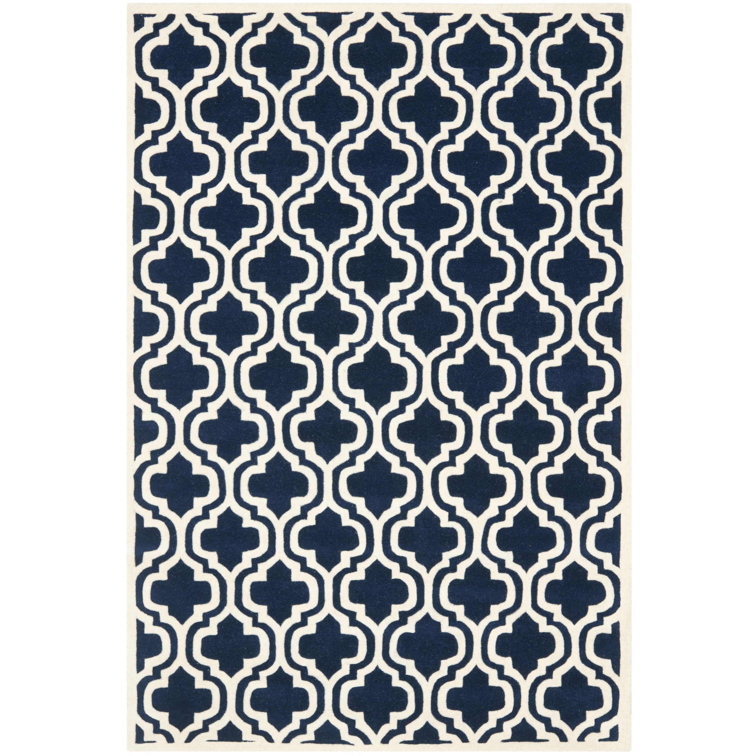 A Contemporary Design And Dense Thick Pile Highlight This Handmade Rug Inspired By Moroccan Patterns