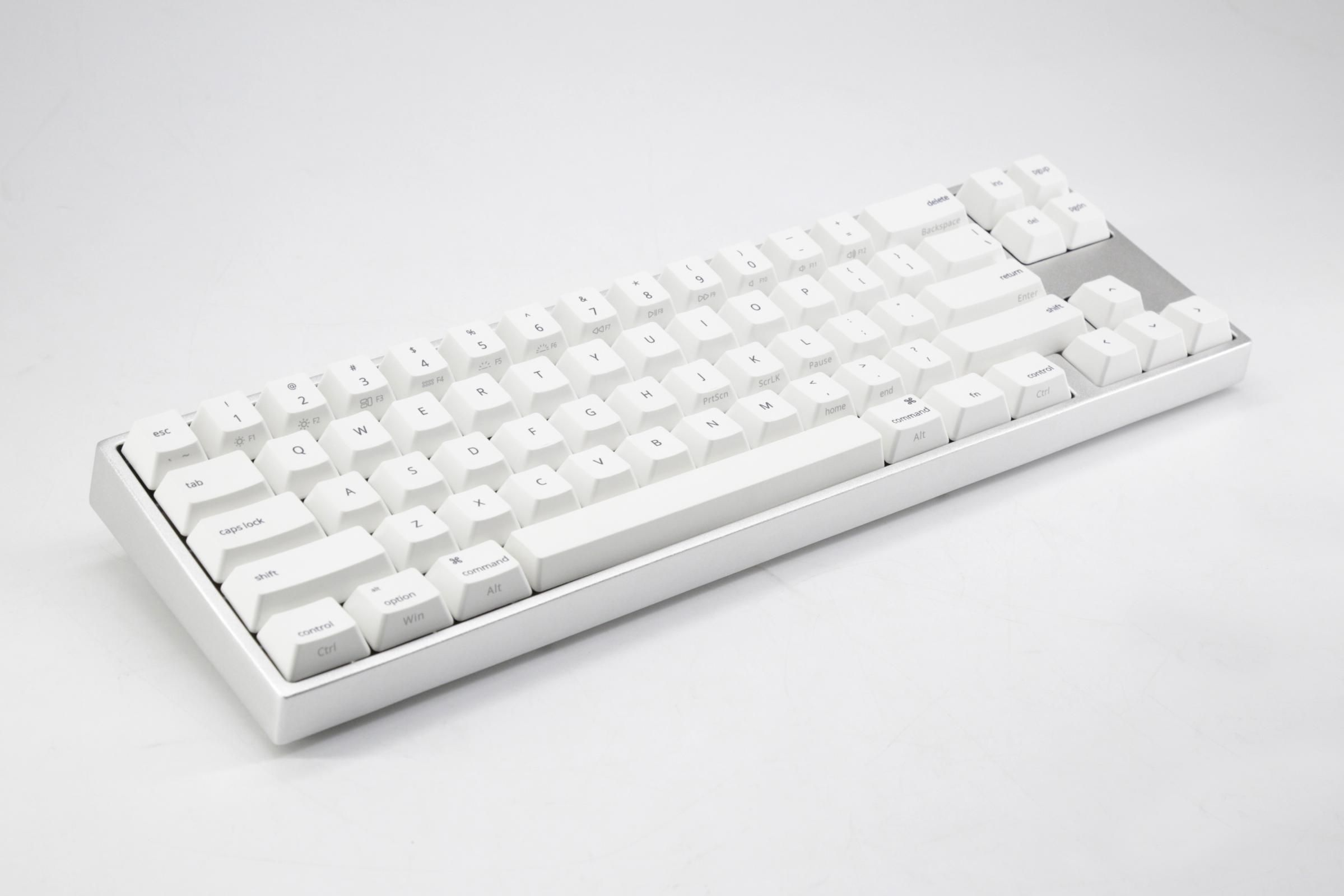 768ea0d79b5 Varmilo VA68M V3 Mac White LED 60% Dye Sub PBT Mechanical Keyboard with  Cherry MX Brown, Blue, Black, Red, Clear, Silent Red, Silver, or Silent  Black ...