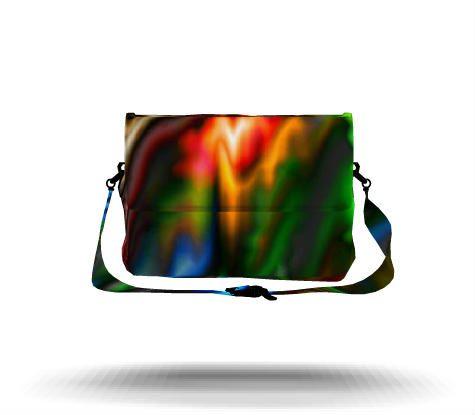 Tropical Rain Forest Messenger Bag