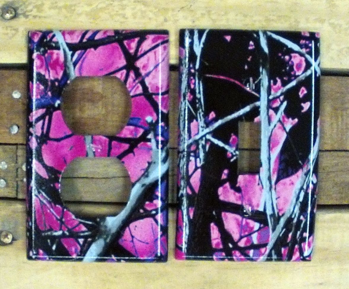 Muddy Girl Camo Light Switch Outlet Covers 6 50 Each