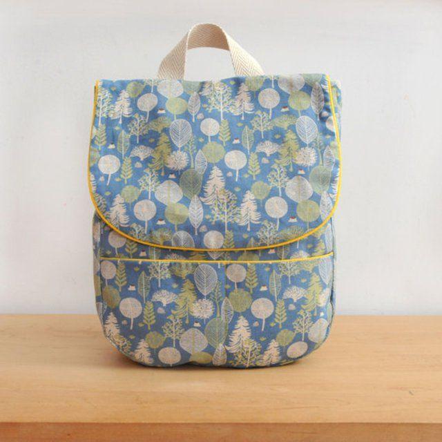 7 tutoriels pour coudre un sac dos pour enfant for A coudre pour bebe