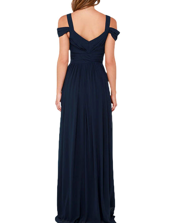 Prom Dress Chiffon Bridesmaid Dress