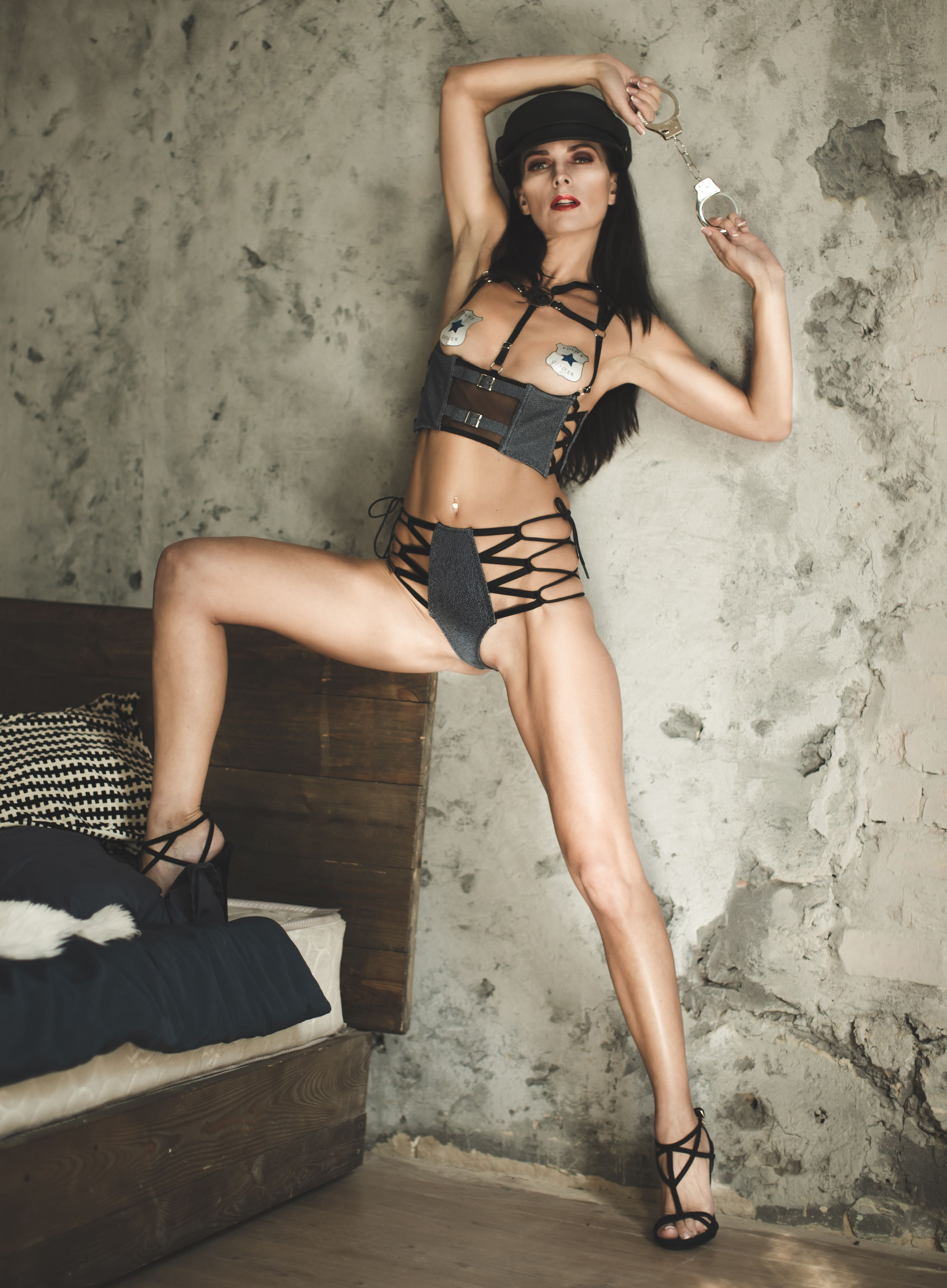 Allow yourself more in this daring and provocative lingerie. Which image  suits you more: