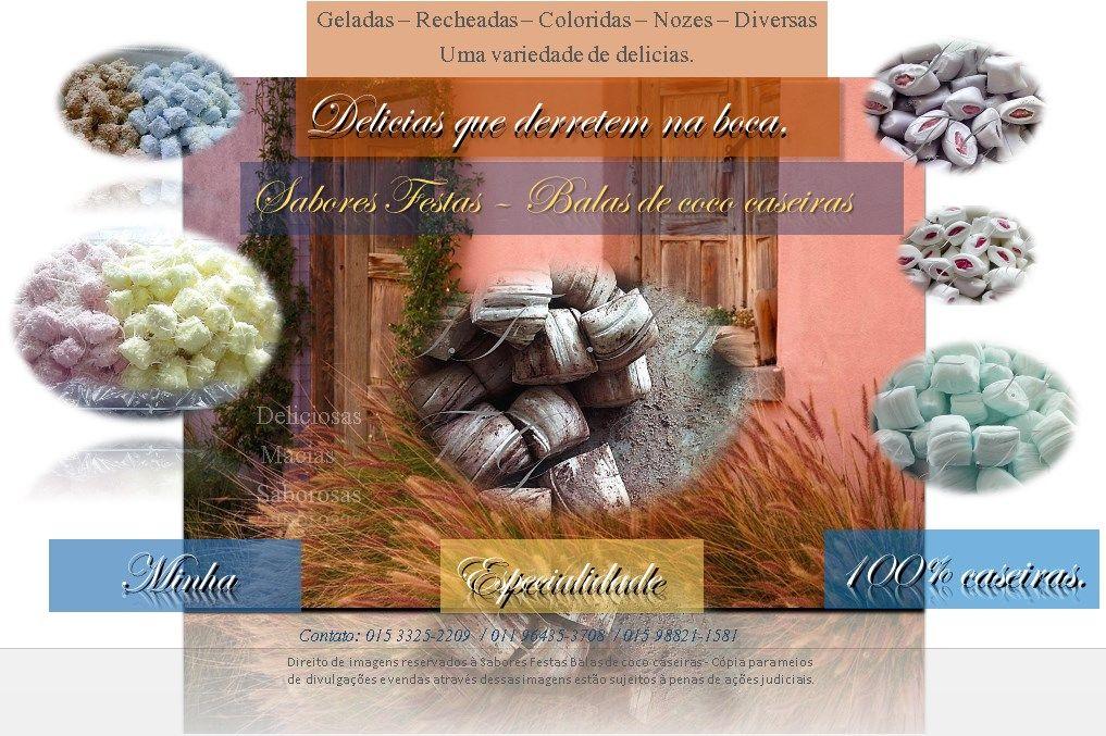 As mais deliciosas balas de coco caseiras - Feitas Artesanalmente - 100% caseiras.  (Minhas imagens contem marca d'agua contra fraude e violação)