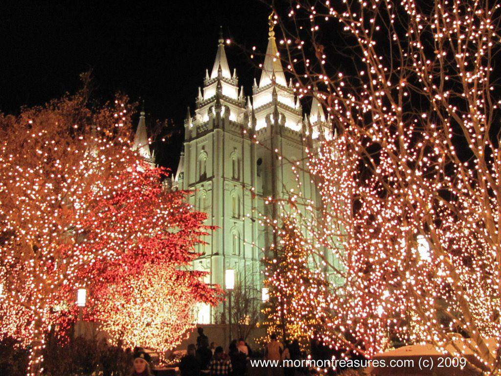 Temple Square Salt Lake City Christmas Lights.Salt Lake City Temple Christmas Lights Christmas Pictures