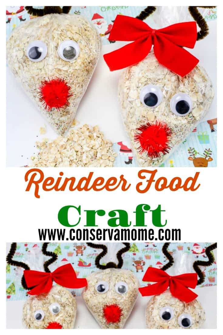 Reindeer Food Craft- A Fun Christmas Craft #reindeerfoodrecipe