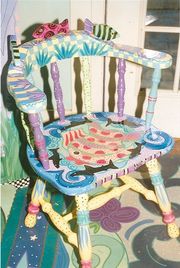 Good Hand Painted Childu0027s Chair By Mary Wright Of Wright Originals Whimsical  Designs In Southern Pines,