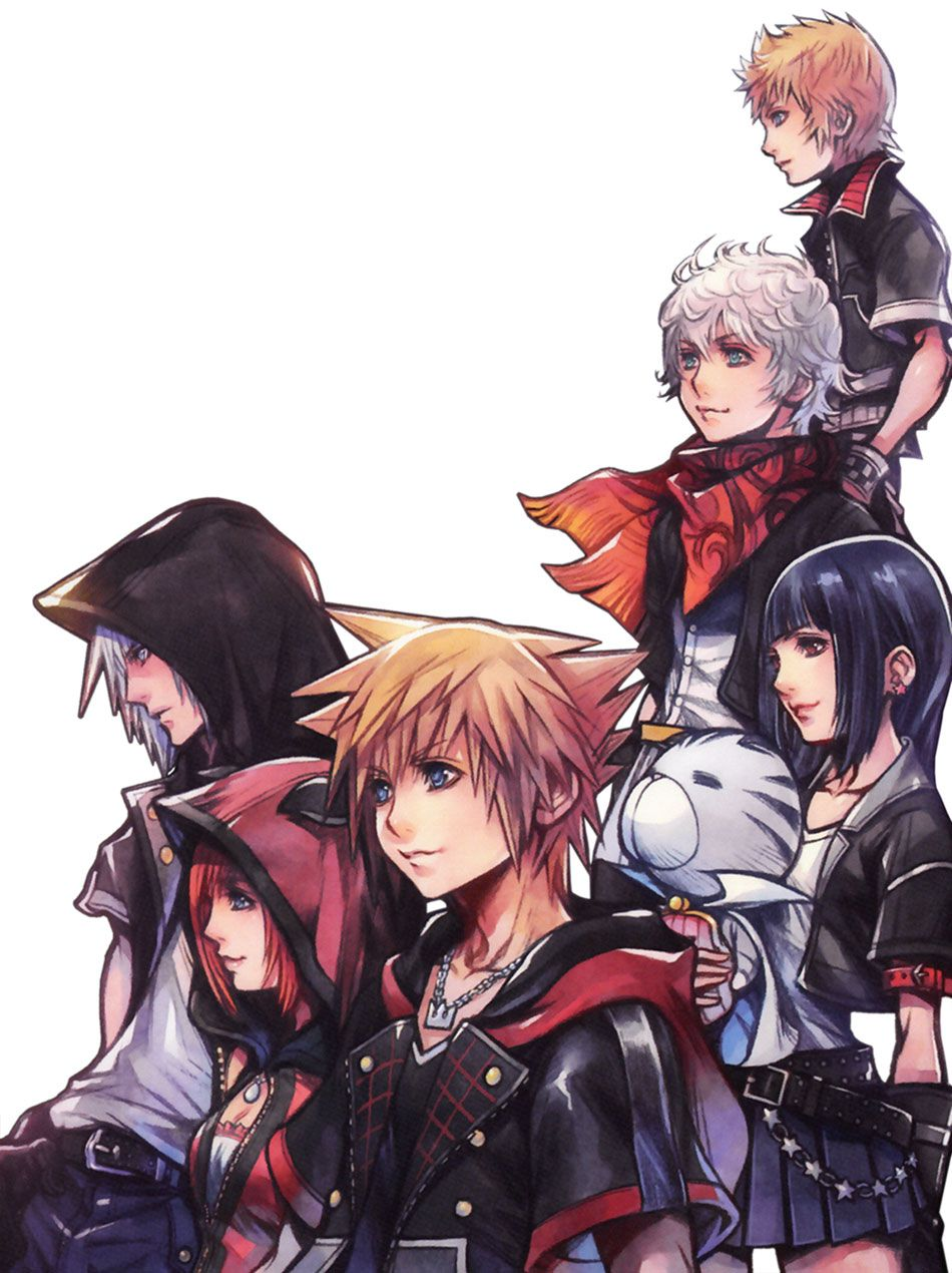 3rd Anniversary Illustration from Kingdom Hearts Union χ [Cross