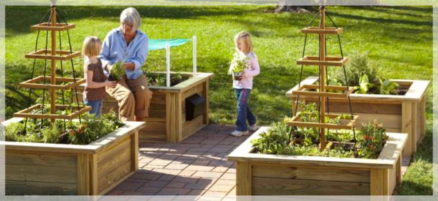 Garden Box Design Ideas | Home Design Ideas