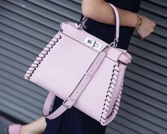 Fendi Pink Crossbody