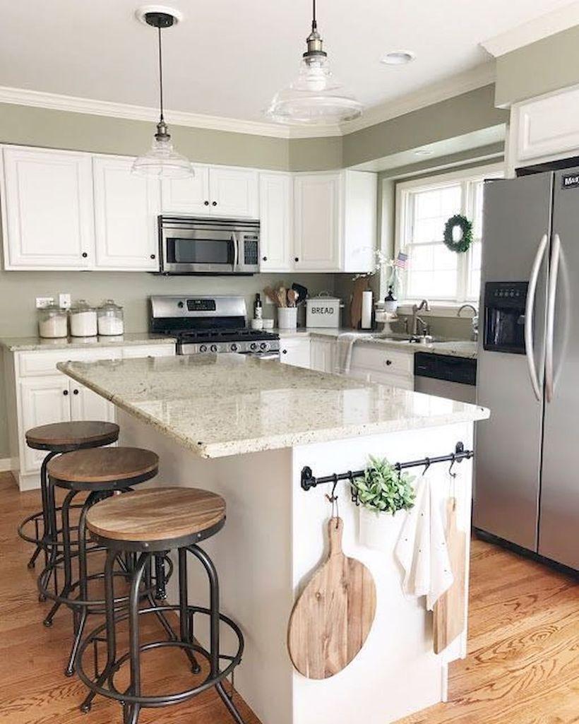 65 beautiful modern farmhouse kitchen design ideas for on best farmhouse kitchen decor ideas and remodel create your dreams id=72722