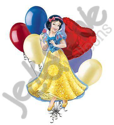 "DISNEY 18/"" FOIL BALLOON BIRTHDAY PRINCESS SNOW WHITE PARTY NEW IN RETAIL PACK"