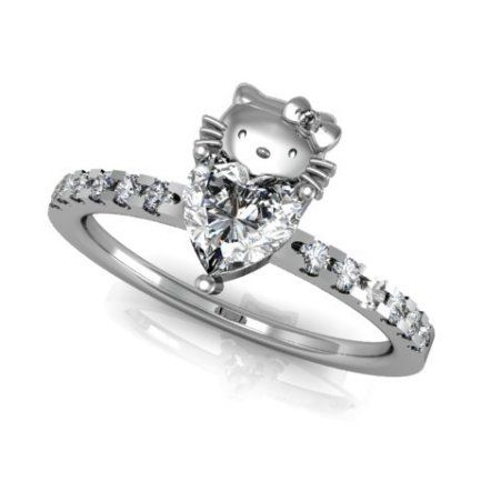 hello kitty wedding rings - Hello Kitty Wedding Ring