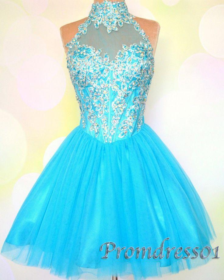 A pretty sparkly light blue dress. | Dresses | Pinterest | Light ...