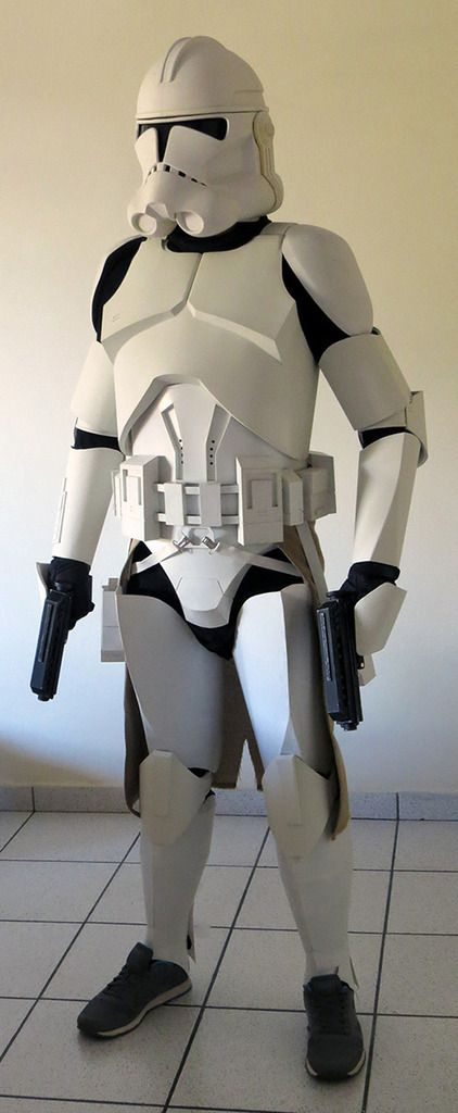 Storm trooper armour