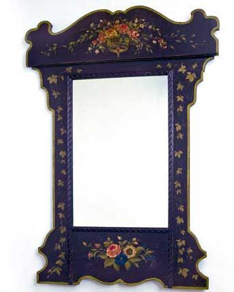 High Quality Jane Keltner Collection Floral Basket Mirror. Teen Vogue FashionFrench  MirrorHand Painted FurniturePaint ... Pictures