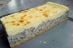 Mohnkuchen mit Schmand und Vanillepudding von Tüller | Chefkoch