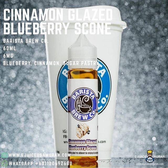 Barista Brew Co  - Cinnamon Glazed Blueberry Scone  Buy Now