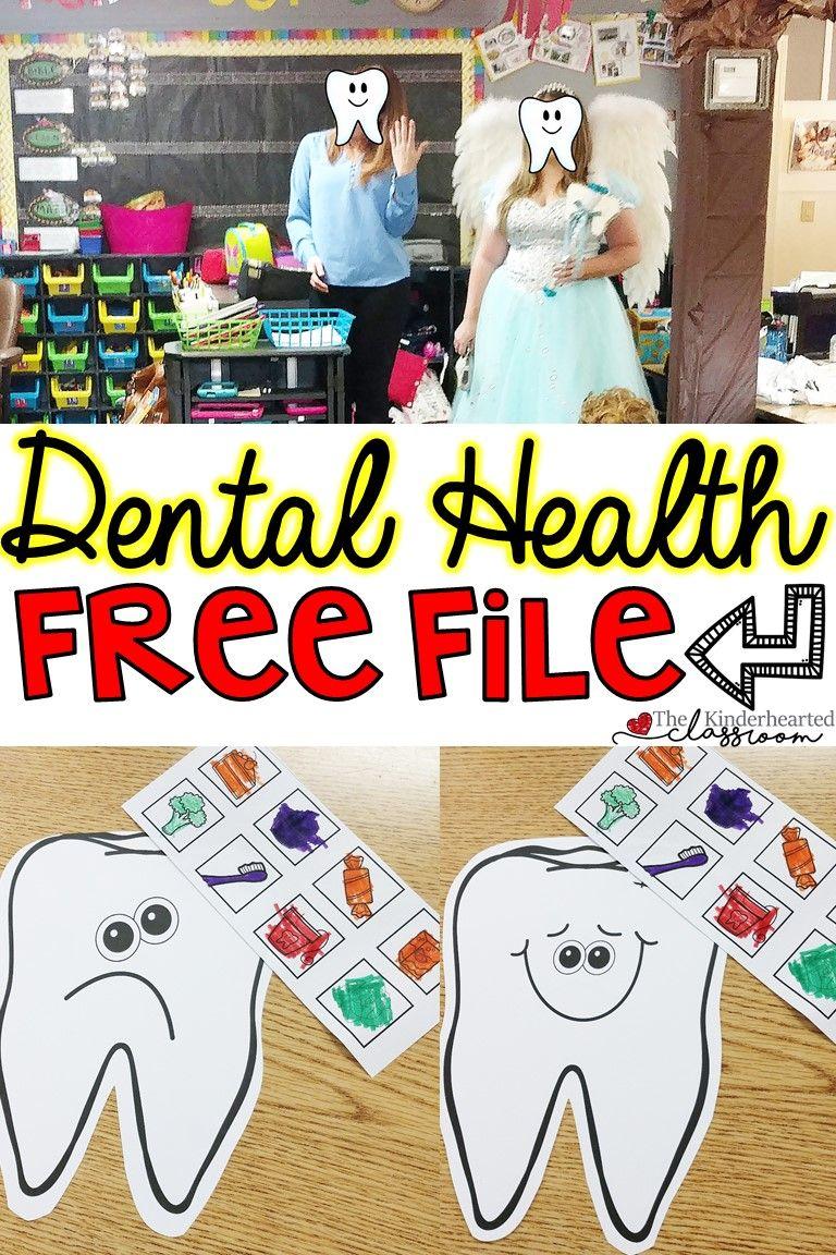 Dental Health FREEBIE Health lesson plans, Dental