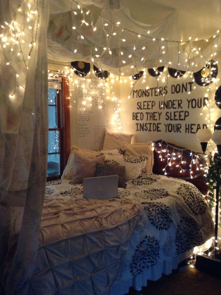 31 Ideen für Himmelbetten & Design für Ihr Schlafzimmer #tumblrroom